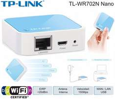 TL-WR702N Wireless N Nano Router