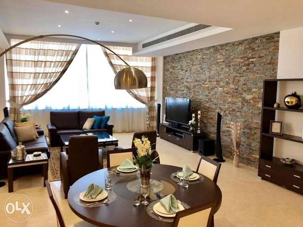 Brand new, luxury, modern, 2BR apartment furnished for rent in juffair