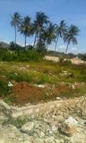 Prime Beach plot for sale at Shelly Beach South Coast Mombasa County