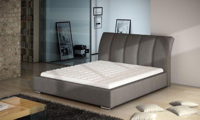 łóżko Tapicerowane 160x200 Cliff Nowe Dostawa Gratis
