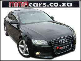 2011 AUDI A5 2.0T QUATTRO MULTITRONIC with sunroof R209,890.00