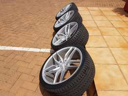 19 Inch wheels and tyres
