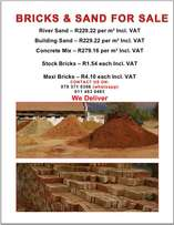 bricks and Sand for sale