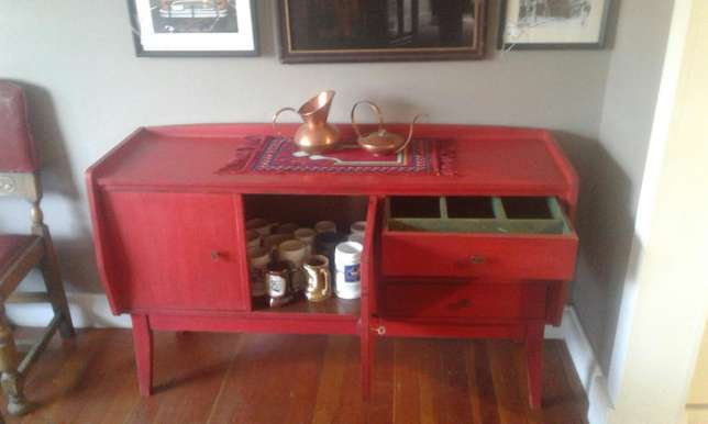Red Retro sideboard Randfontein - image 3