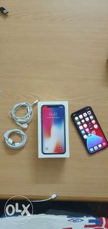 iPhone X 256gb with box and all accessories original perfect condition