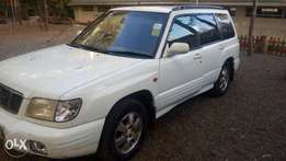 Subaru Forester, in top shape condition one owner, non turbo engine.