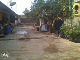 1 plot of land with 5 mini flats for sale
