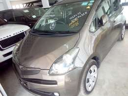 Toyota Ractis 2010 New Model 2WD