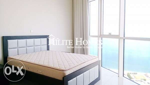 Full floor sea view three bedroom apartment for starting rent KD 1100 الشعب البحري -  4