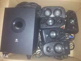 logik 6.1 surround sound speakers