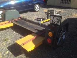 Tow Dolly Piggy Back Car Trailer