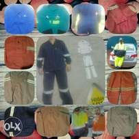 PPE Overall , Work suit , Safety boot , rain suit