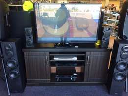 LG tv plasma 50inc and home theater pioneer plus tv stand