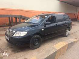 Toyota Fielder 1500cc auto KBU year 2005 at 750k