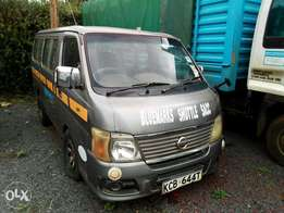Nissan caravan accident free in great condition