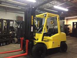 Hyster Pneumatic 8000 Pound Forklift for sale