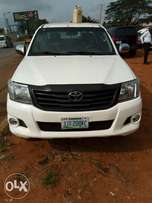 Nigerian used Toyota Hilux for sale.