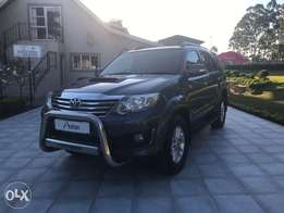 2012 Toyota Fortuner 3.0 D -4D 4X4 auto for sale