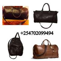 pure Leather Travel Bags for Men