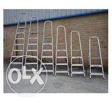 Pure aluminium steps ladder at affordable prices