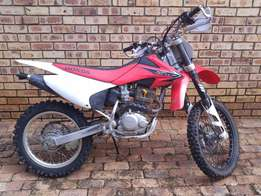 2008 Honda CRF230 with front forks conversion