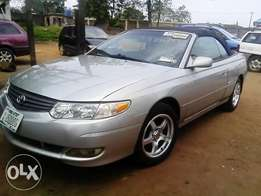 Toyota Solara,(Open roof) 2003 Model
