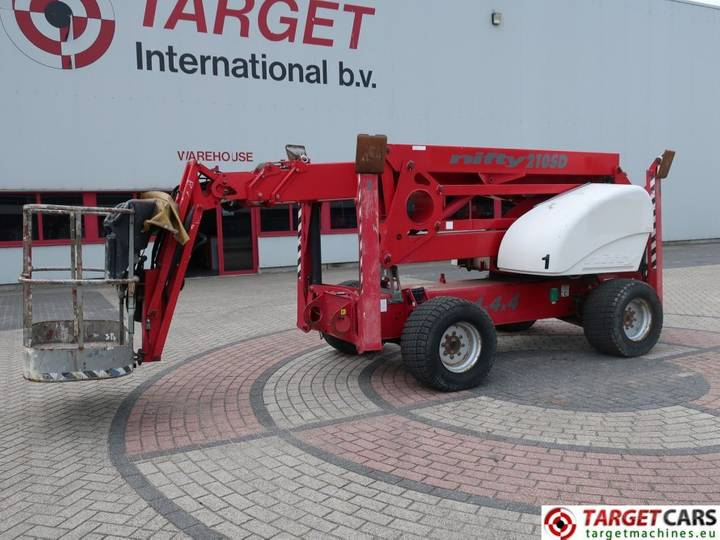 Niftylift SD210 Articulated 4x4x4 Diesel Boom Lift 2130cm - 2007
