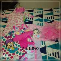 Girls clothing 0-6 months