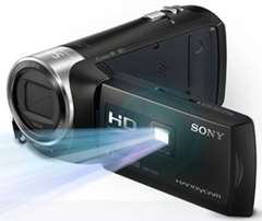 Sony HDR PJ270e with inbuilt projector