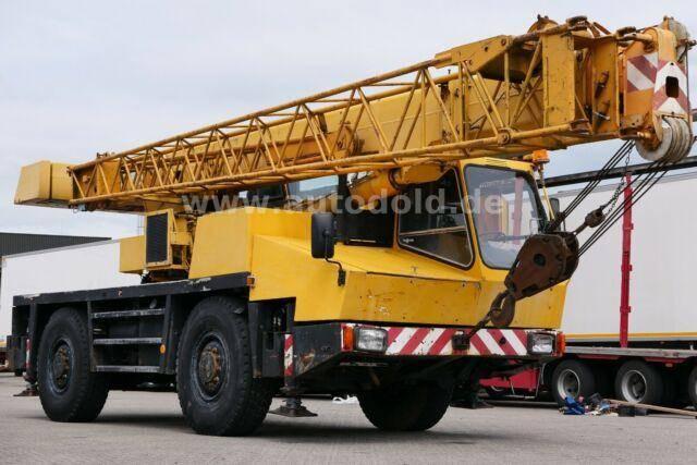 Krupp kmk2025 4x4 autokran 25 tonnen - 1988