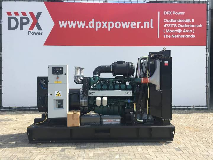 Doosan DP222LC - 825 kVA Generator - DPX-15565-O - 2019