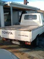 I'm selling my Toyota stallion for r22000