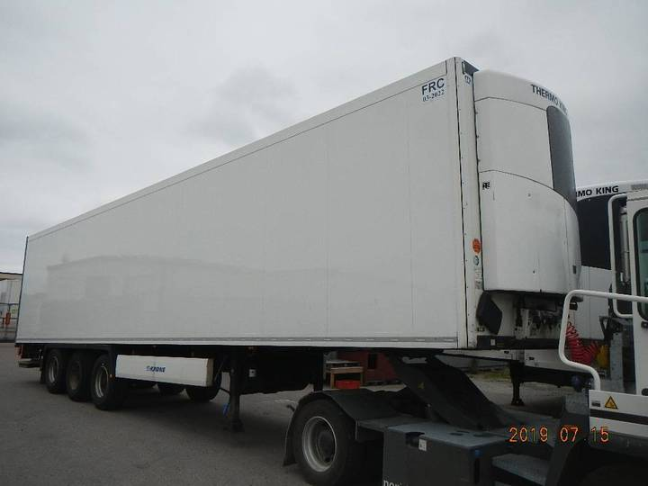 Krone Reefer With Lift - Drn 749 - 2013