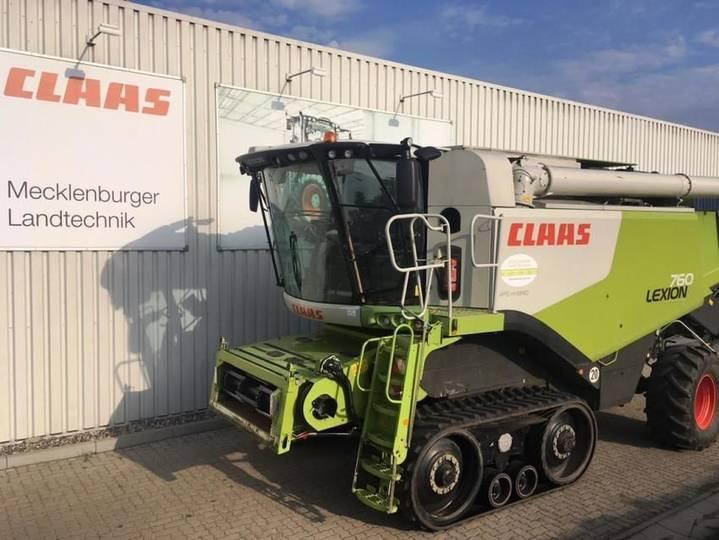 Claas lexion 760 tt - 2012