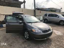 Clean Tokunbo 2006 Toyota Corolla LE