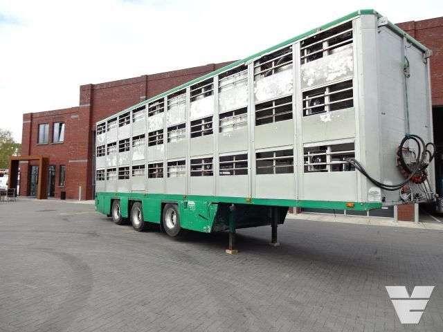 Lamberet Diversen Lambrecht 3 Stock Livestock trailer - 1998