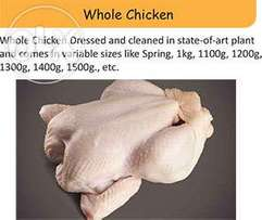Chicken And Different Parts