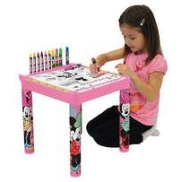 Disney Minnie Mouse Girls Colouring Table