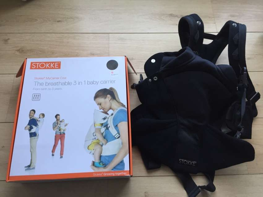 Stokke Mycarrier 3 In 1 Baby Carrier With New Stokke Bibs Prams