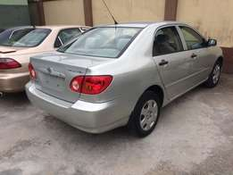 very clean Toyota corolla 2004 model tokunbo Lagos clear