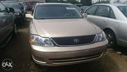 direct Toks Toyota avalon