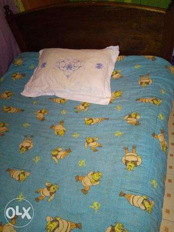 4 by 6 bed with matress in mint condition Kinoo - image 3