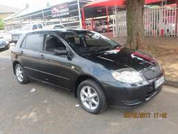 Toyota RunX 5 Speed Manual 4 Door with power steering great family car