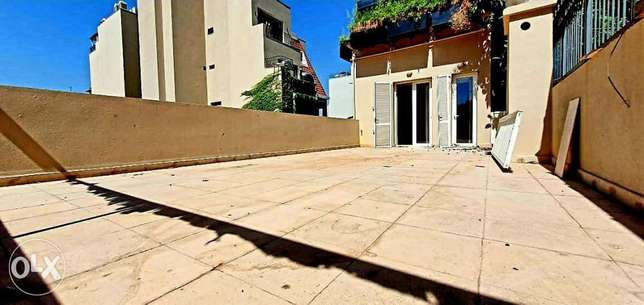 Amazing Apartment For Rent with Terrace in Gemayzeh