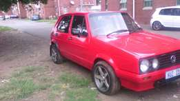 VW golf 1 for sale it running paper in order never been in accident
