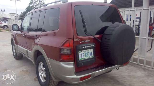 Neat 2002 Mitsubishi Montero For Giveaway Port Harcourt - image 2