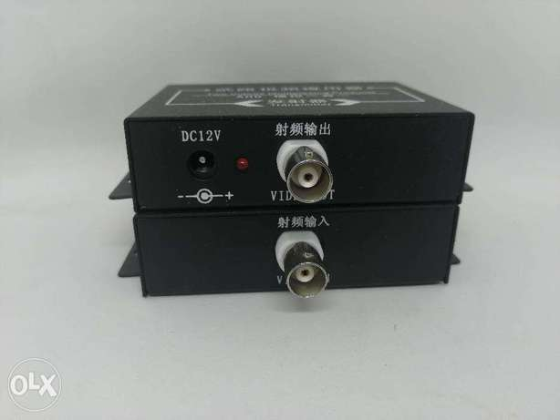 two Channel Coaxial Video Multiplexer, 2 cameras share same cable مدينة الشروق -  4