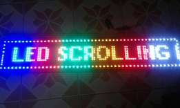 LED Scrolling Light