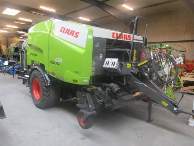 Claas Rollant 455 Rc Uniwrap Med Ballevender - 2017