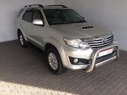 2012 Toyota fortuner 3.0D-4D 4x4 A/T